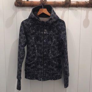 Great Lululemon Scuba Hooded Jacket—EUC—Size 6